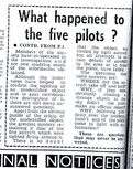 Westall UFO Sighting Newspaper