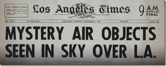Battle of LA Newspaper Headline