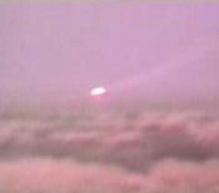 Latest UFO Sightings Disc Shaped UFO Captured Above Mexico