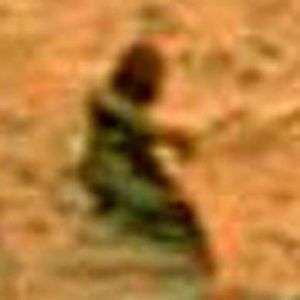 Martian Zoomed in as far as possible