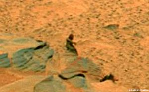 Close Up Martian Shot
