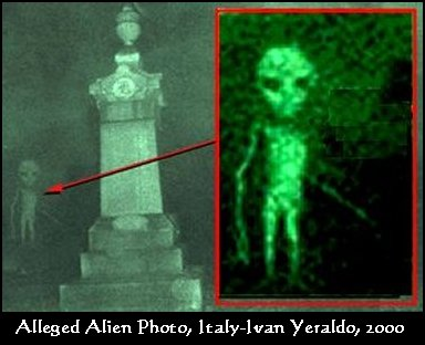 Alien Picture from Italy