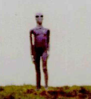 pictures of alien on hill