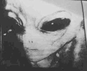 Alien Picture from hidden cam
