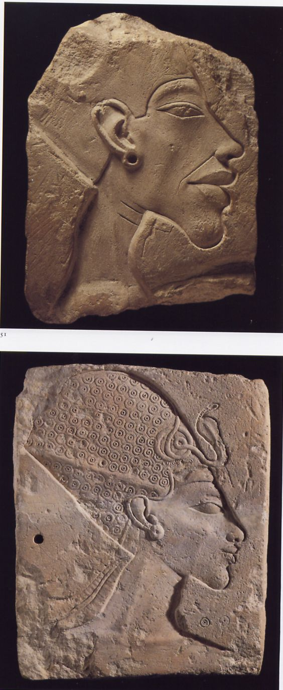Ancient carvings of aliens