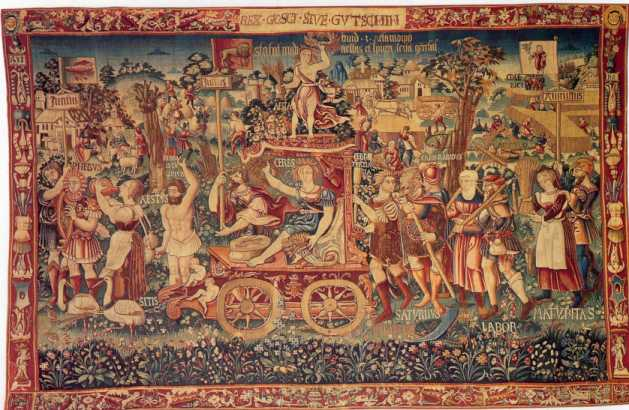 UFO's found in Tapestry