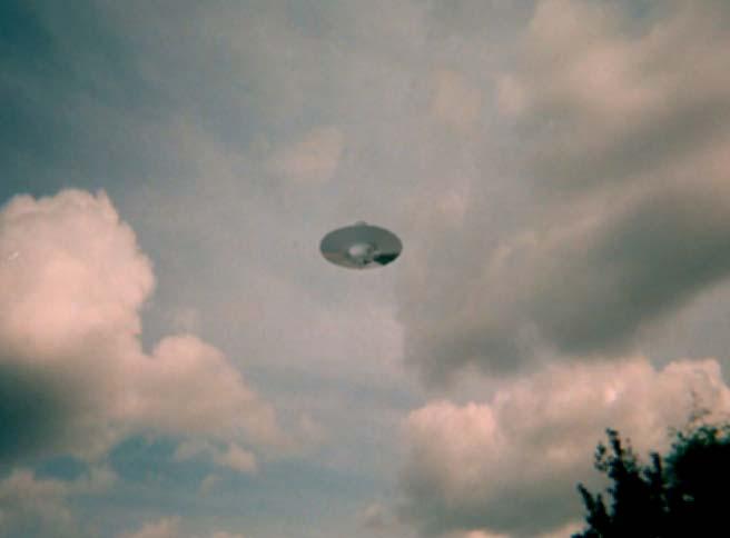 UFO above England