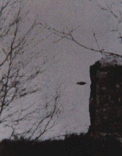 Dark UFO Picture