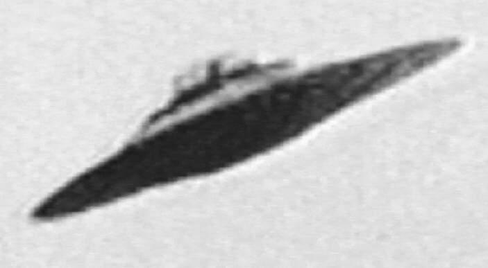Close up UFO