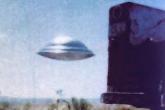 Silver UFO
