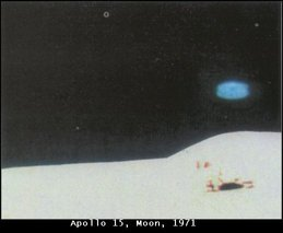 Apollo 15 Blue UFO