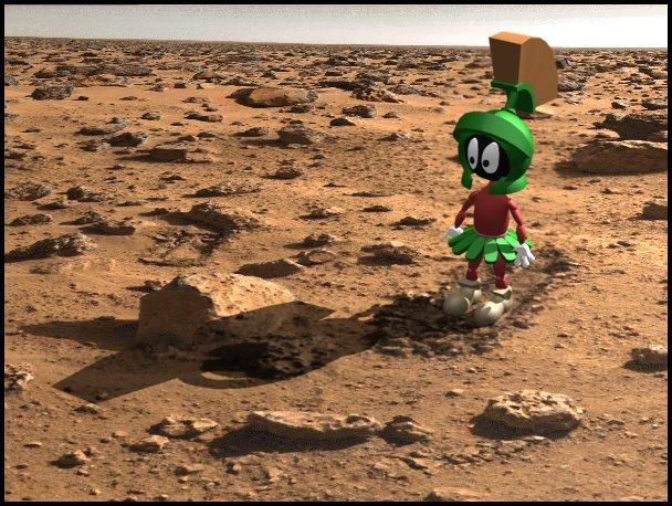 marvin martian animated gif