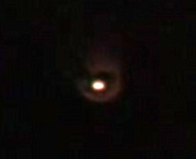 Orange UFO England