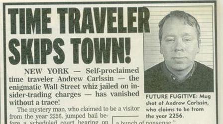 Andrew Carlssin News