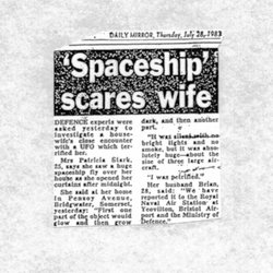 Rendlesham Forest UFO Newspaper
