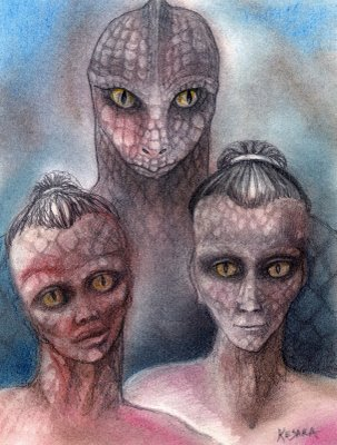 Reptilians Alien Race, Species, and Shapeshifters Pictures and