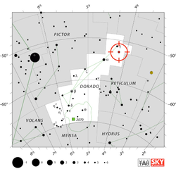 Gliese 163c Star Map