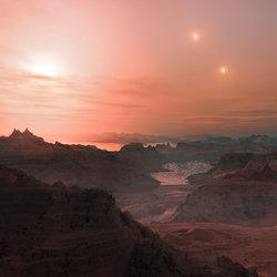Gliese 667C c Landscape