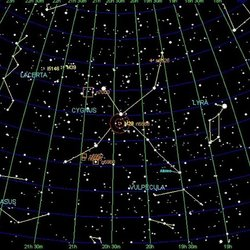 kepler 22b Star Map