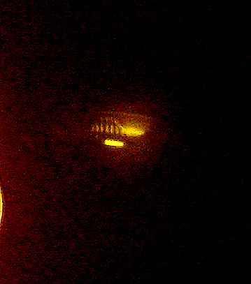 Orange UFO Orb