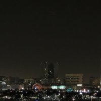 UFO over Long Beach, California