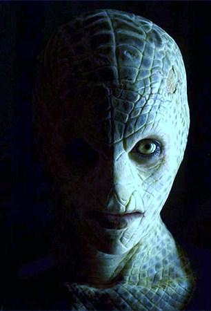Reptilian Creature in other Dimension