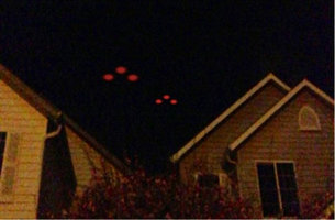 UFO over home