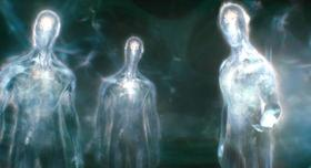 Glowing Aliens